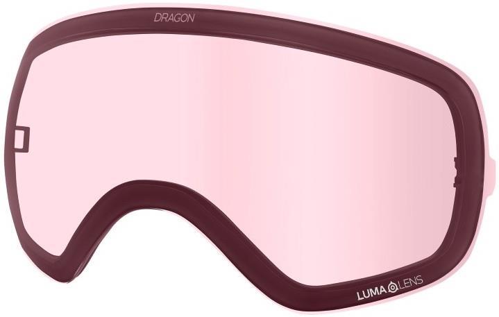 Dragon X2s Snowboard/Ski Goggle Spare Lens OS L.Lens Light Rose