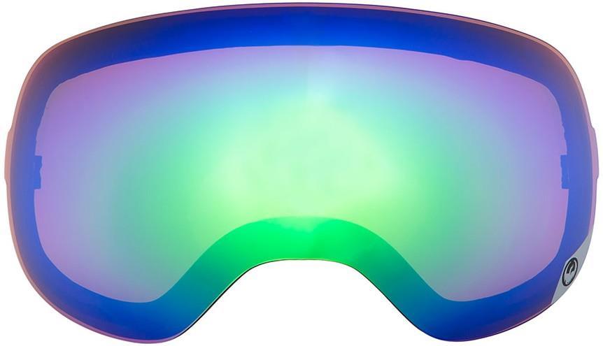 Dragon X2 Ski/Snowboard Goggle Spare Lens One Size Opt Flash Green