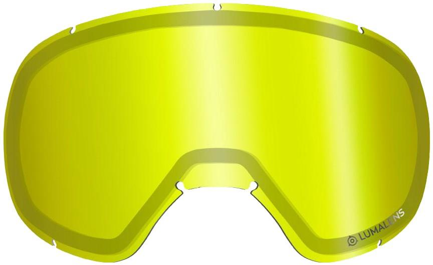 Dragon D3 Snowboard/Ski Goggles Spare Lens, One Size LumaLens Yellow