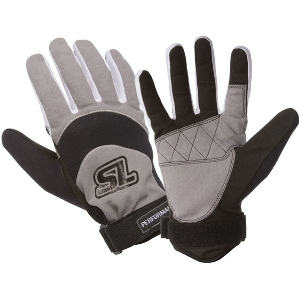 Straight Line Performance Amara Watersports Gloves, XL, Grey Blue
