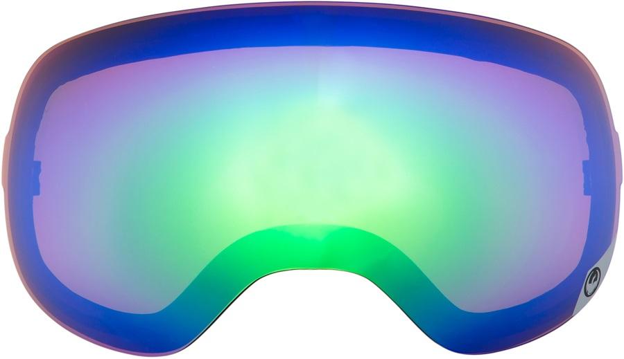Dragon X1 Snowboard/Ski Goggle Spare Lens, One Size, Green Ionized
