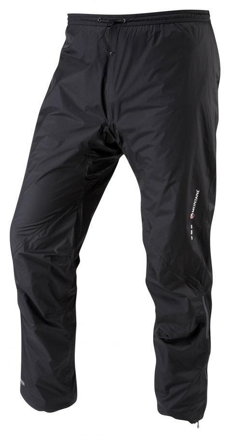 Montane Minimus Waterproof Hiking/Climbing Pants, XL Black