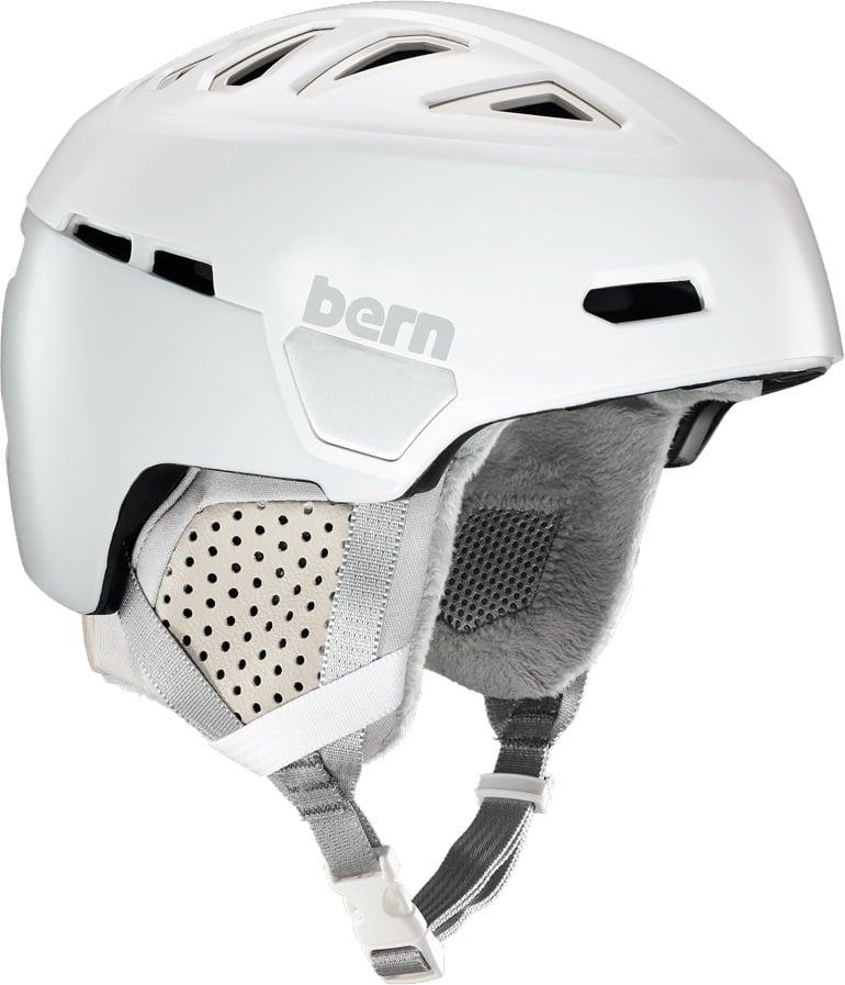 Bern Heist Ski/Snowboard Helmet, S Satin White