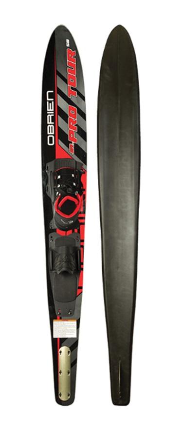 """O'Brien Pro Tour Slalom Waterski 58"""" Jr Black Red 58"""""""