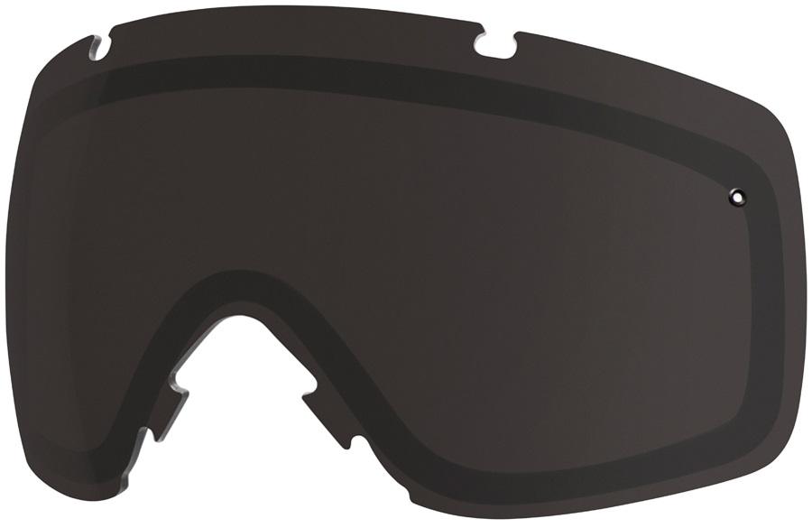 Smith I/O Snowboard/Ski Goggles Spare Lens, One Size, Blackout