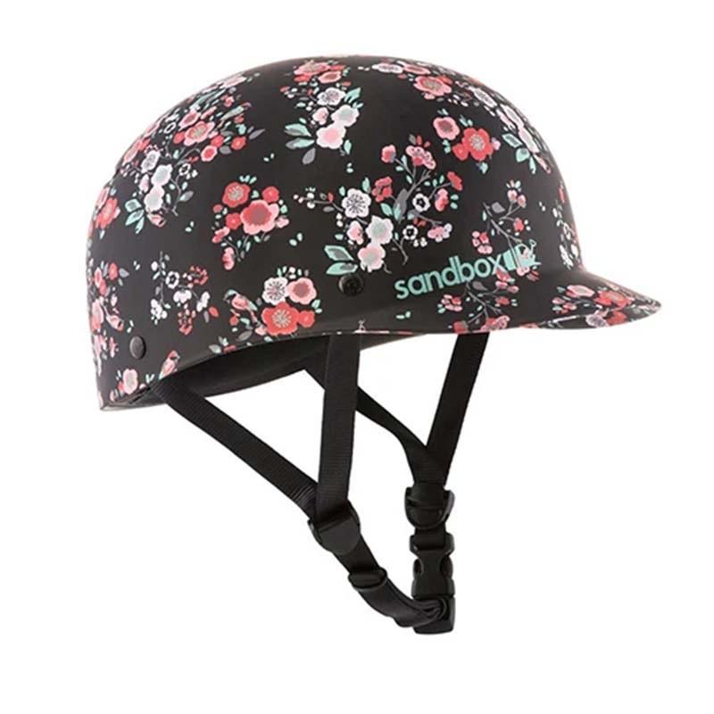 Sandbox Classic Low Rider Brim Wakeboard Helmet, M Floral