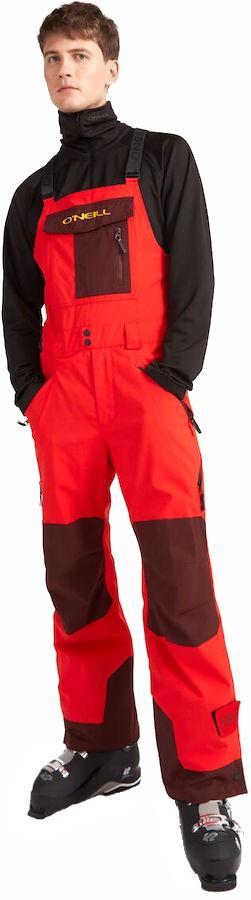 O'Neill Original Ski/Snowboard Bib Pants, L Fiery Red