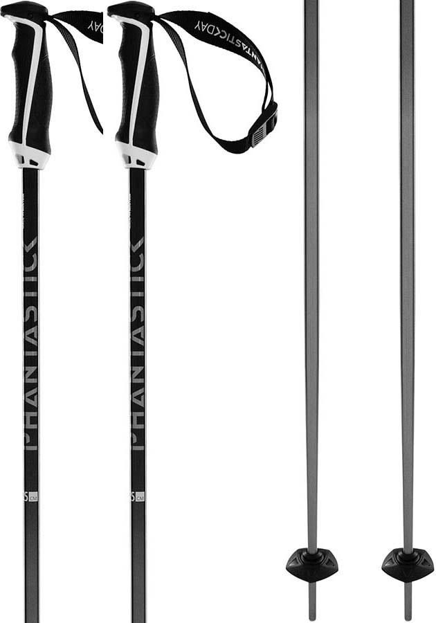 Volkl Phantastick 16mm Pair Of Ski Poles, 120cm Black Fade