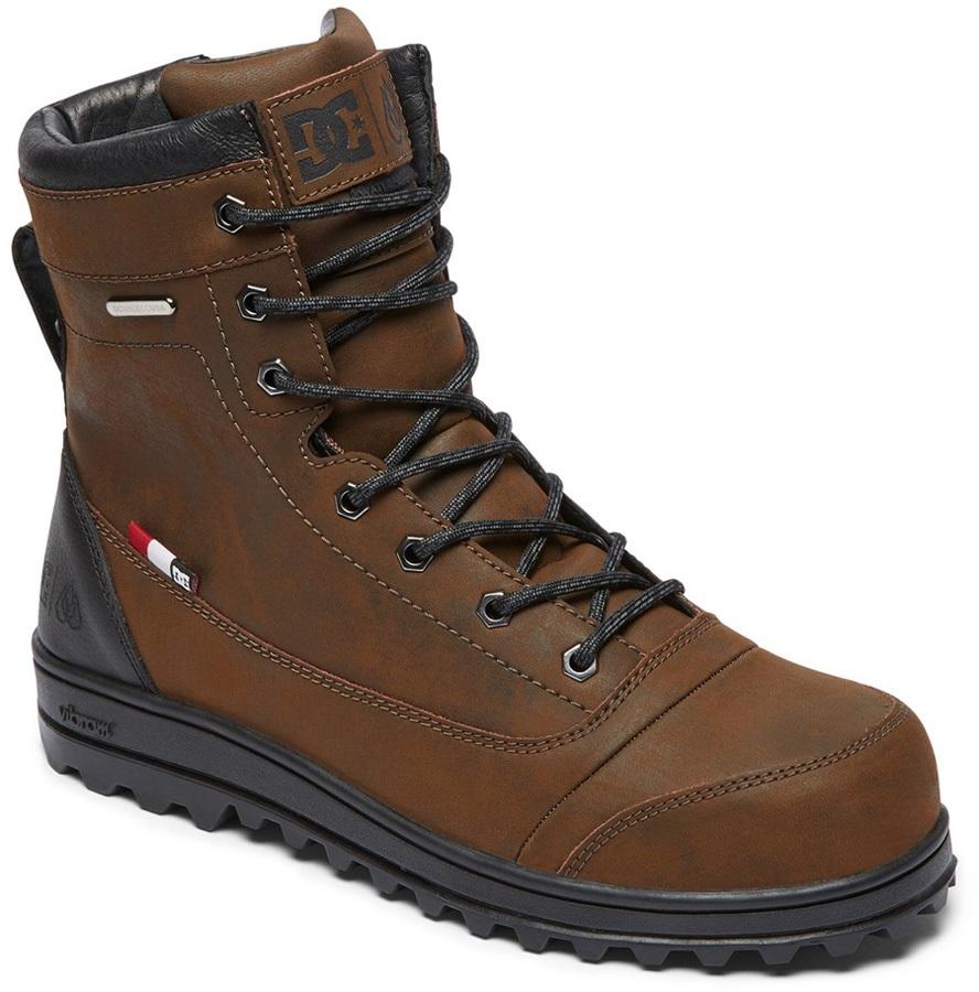 DC Travis Men's Winter Boots, UK 6 Black/Brown/Black