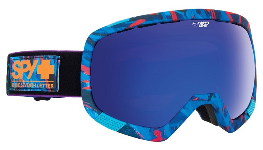 SPY Platoon Snowboard/Ski Goggles M/L Saber Happy Rose/Dark Blue