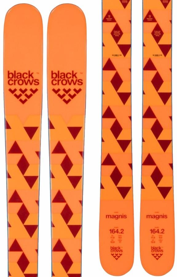 Black Crows Magnis Jr Ski Only Kid's Skis, 157cm Orange 2019