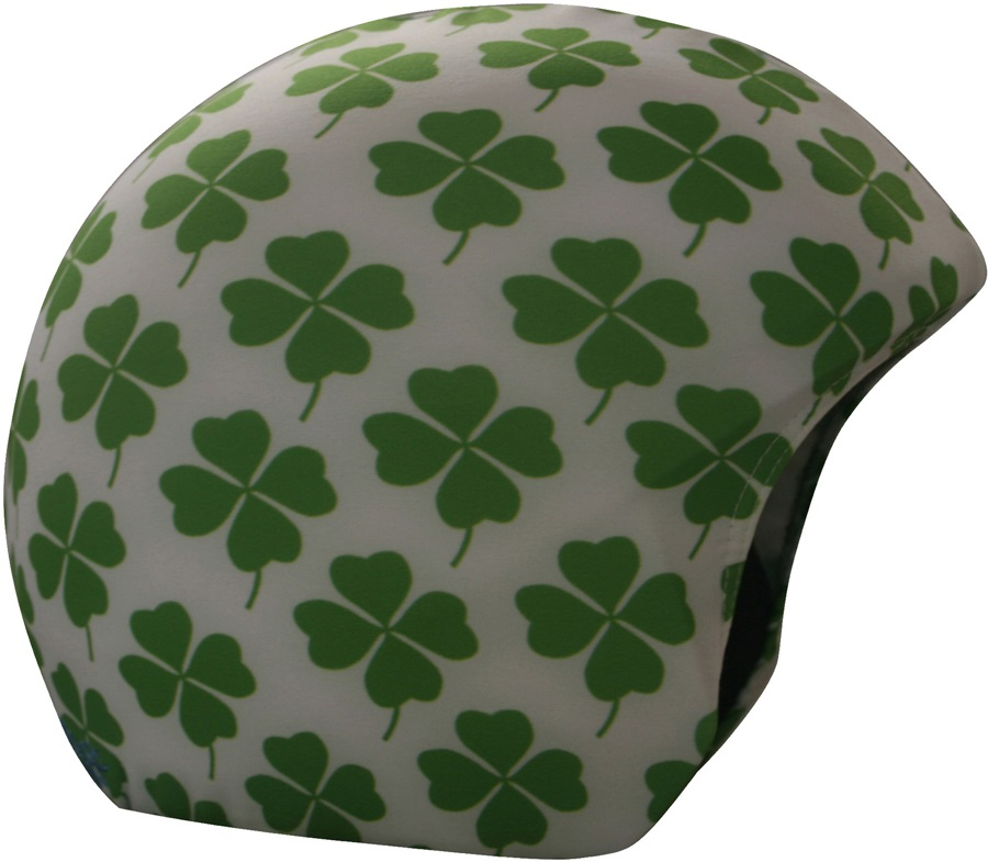 Coolcasc Printed Cool Ski/Snowboard Helmet Cover, One Size, Clover