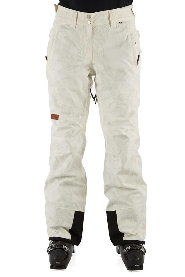 Planks Good Times Women's Ski/Snowboard Pants, XS Snow Palm