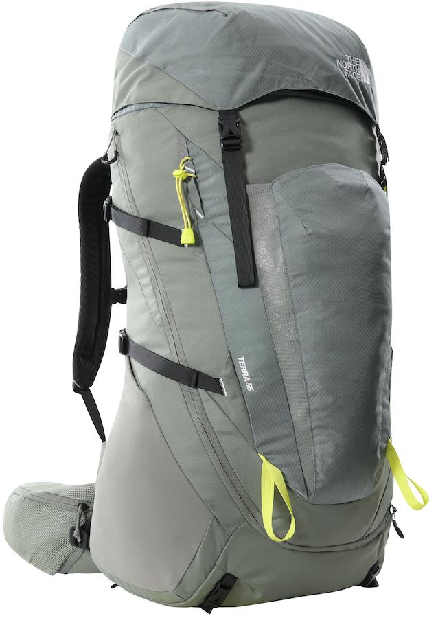 The North Face Terra 55 Hiking/Trekking Backpack, L/XL Agave Green