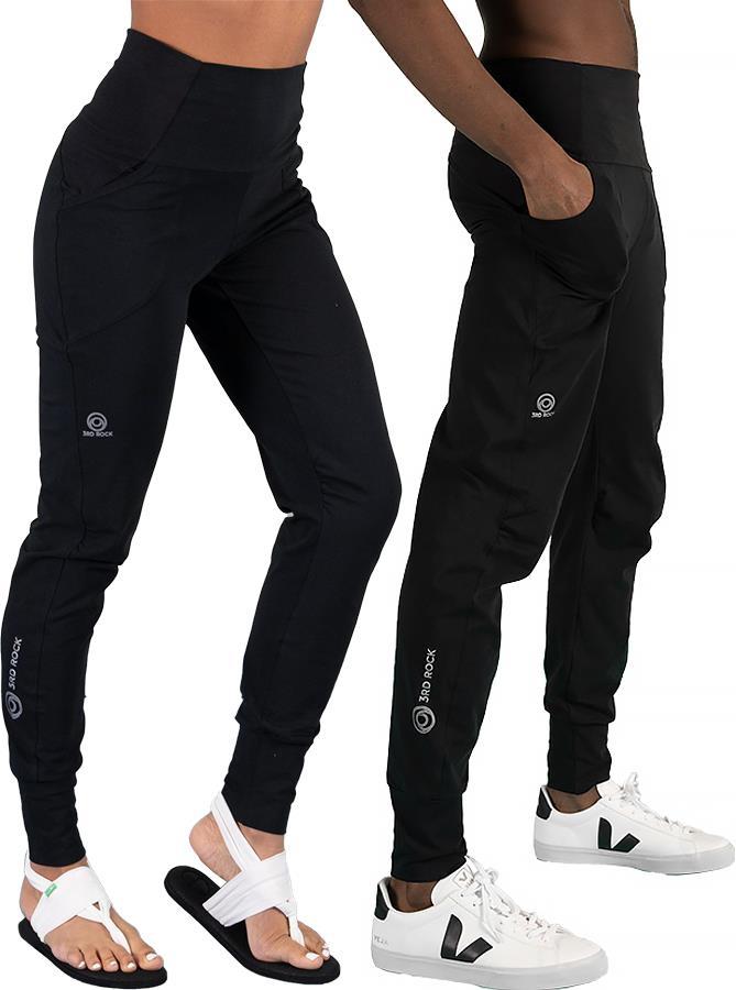 3rd Rock Bataboom Unisex Organic Cotton Sweatpants, S Black