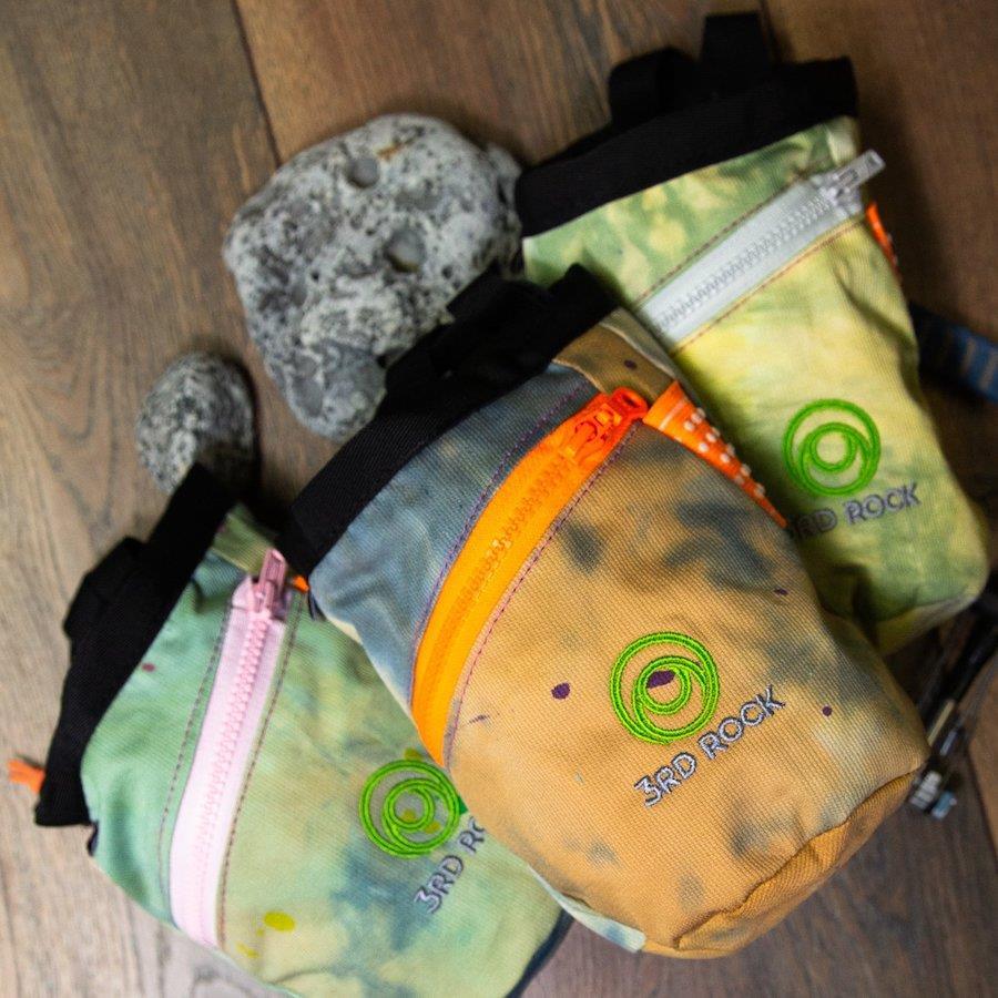 3rd Rock Dippy Doo Rock Climbing Chalk Bag, Na Herbivore