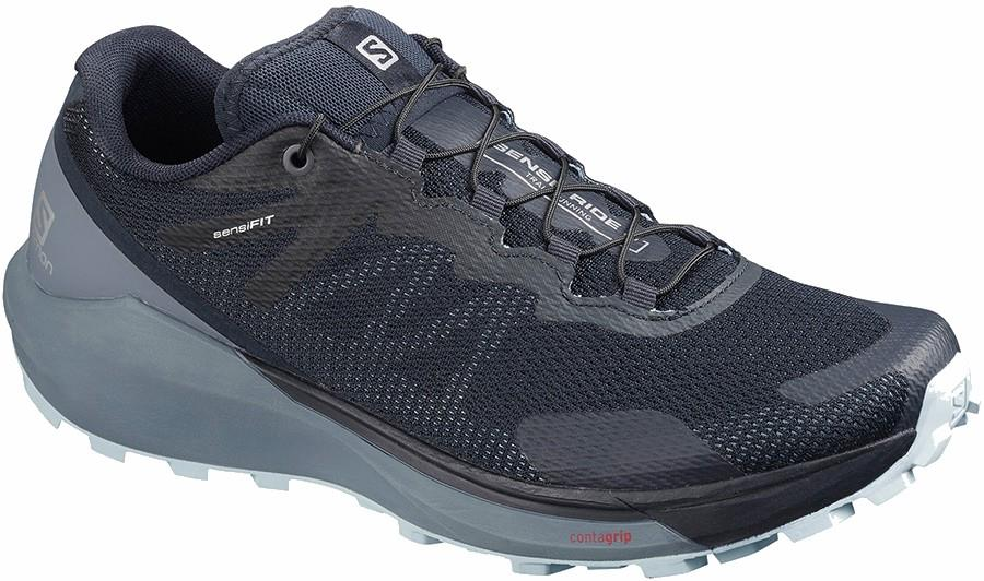 Salomon Sense Ride 3 Women's Running Shoe, UK 4.5 Navy Blazer