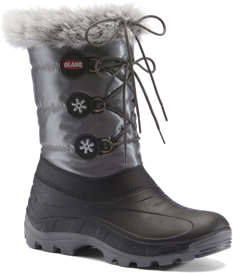 Olang Patty Winter Snow Boots, UK 2.5/3.5 Anthracite