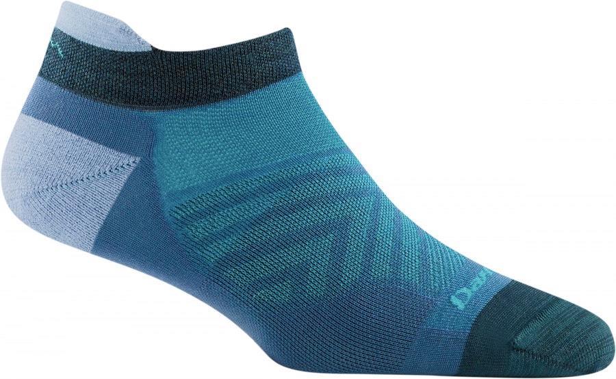 Darn Tough Vertex No-Show Tab Women's Running Socks, S Baltic