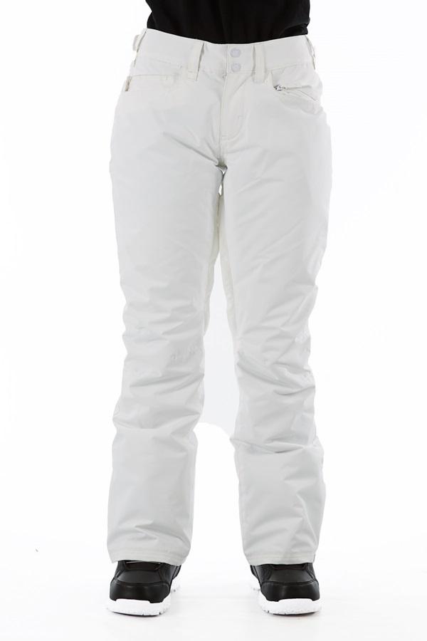 Roxy Backyard Women's Ski/Snowboard Pants, M Bright White 2020