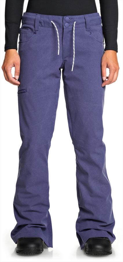DC Viva Women's Ski/Snowboard Pants, L Bio Wash Blue Ribbon