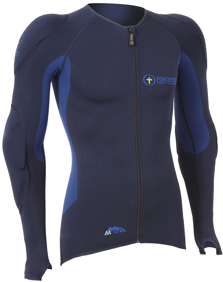 Forcefield Mons Jacket Level 2 Body Armour, XS Navy