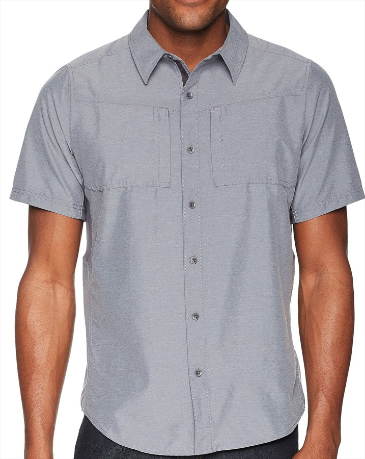 Marmot Diamond Peak SS Technical Shirt - XL, Steel Onyx Heather