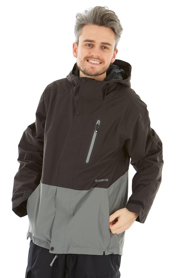 Bonfire Ether Men's Ski/Snowboard Jacket, M Black