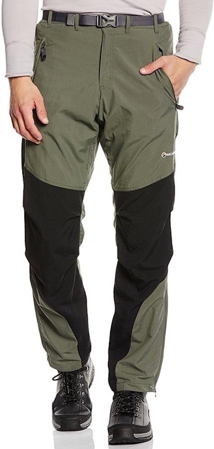 Montane Terra Pants Technical Softshell Trousers M Ivy Regular