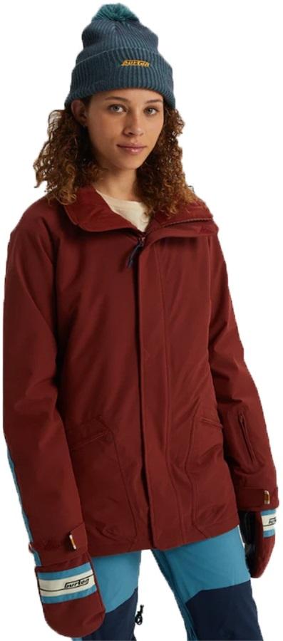 Burton Retro Women's Winter Jacket, M Sparrow
