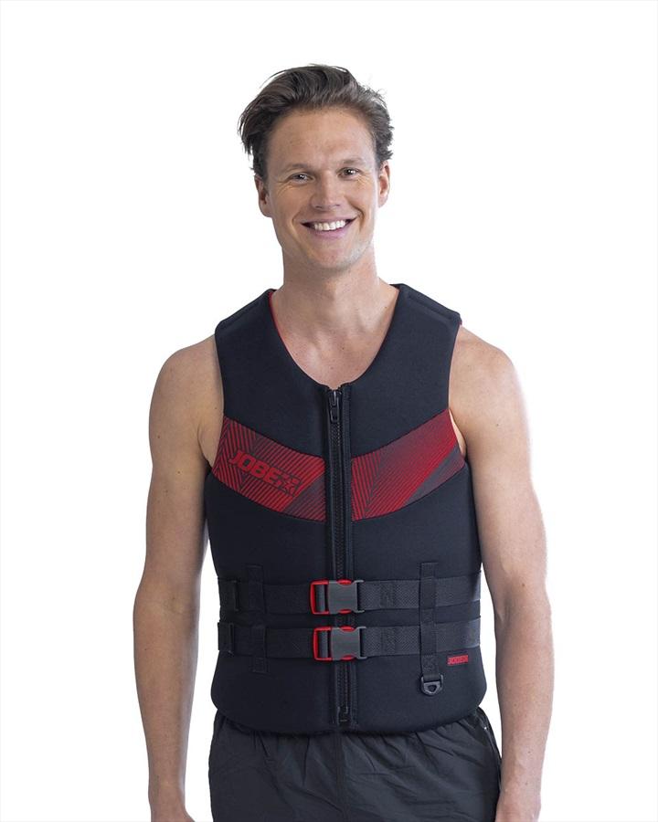 Jobe Neoprene Impact Buoyancy Aid Vest, 3XL+ Black Red 2021