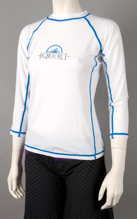 Liquid Force JR Tight Ride Thermal Riding Top Jr Medium LS White