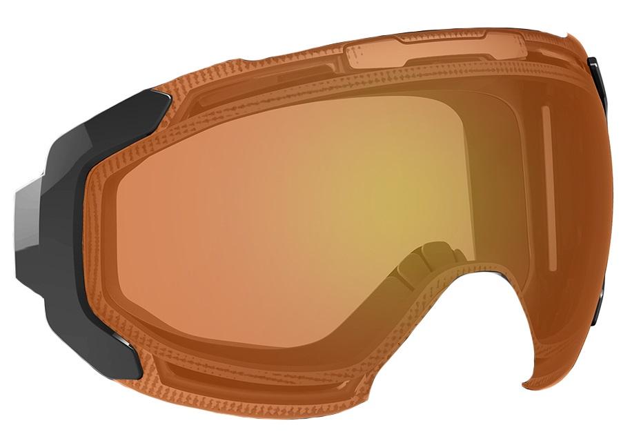 Bern Jackson Ski/Snowboard Goggles Spare Lens, One Size, Orange