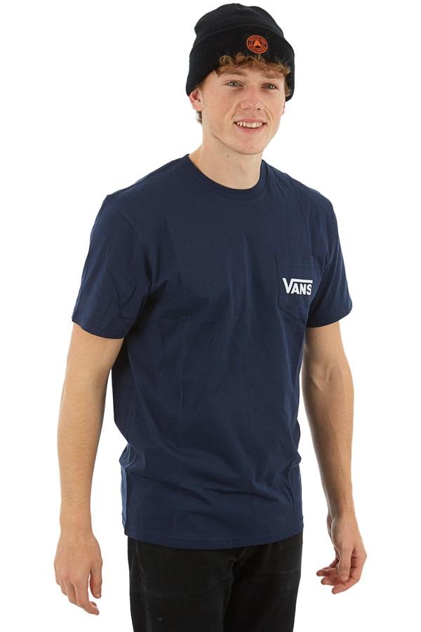 Vans OTW Classic Short Sleeve Chest Pocket T-Shirt, XL Dress Blues