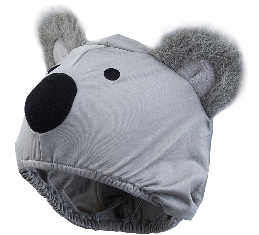 Coolcasc Animals Ski/Snowboard Helmet Cover, One Size, Koala