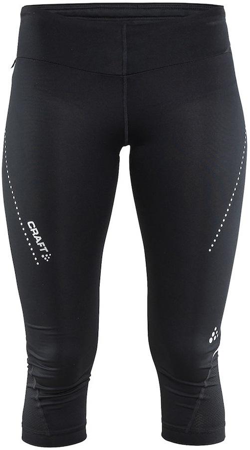 Craft Essential Capri Quick Dry Women's Legging/Tights, XS Black