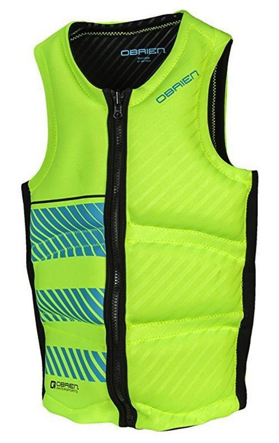 O'Brien Pro Series Wake Wakeboard Impact Vest, Small Green