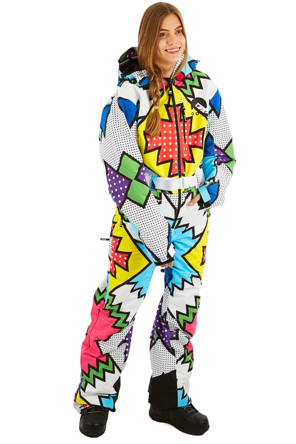 OOSC Snow Suit Women's Snowboard/Ski One Piece, L Day Tripper