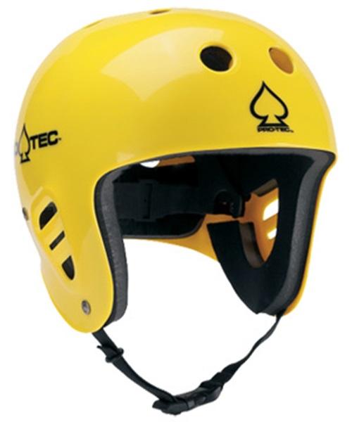 Pro-tec Classic Full Cut Watersports Helmet XS Yellow