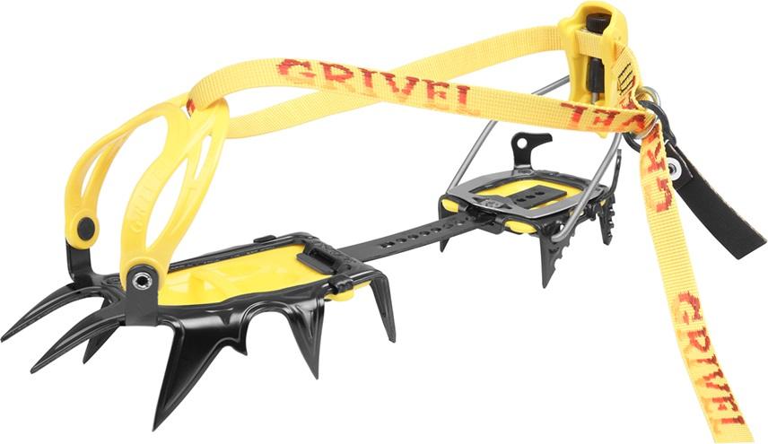 Grivel G12 New Matic Mountaineering Crampon, UK 3.5-13.5 Yellow