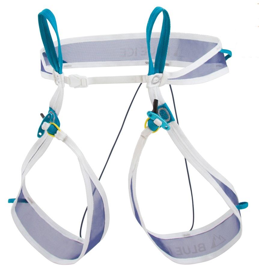 Blue Ice Choucas Light Ski Mountaineering Harness L White