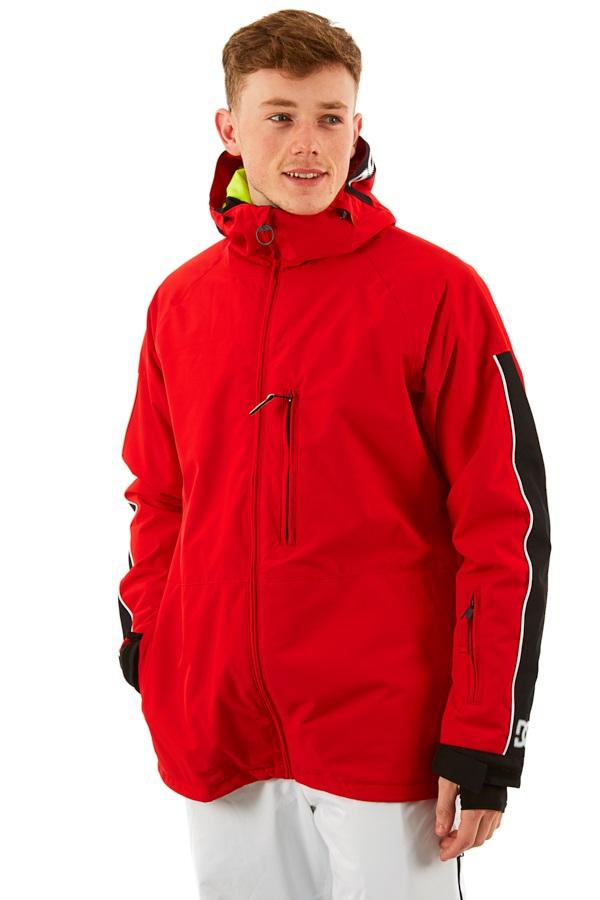DC Retrospect Ski/Snowboard Jacket, M Racing Red