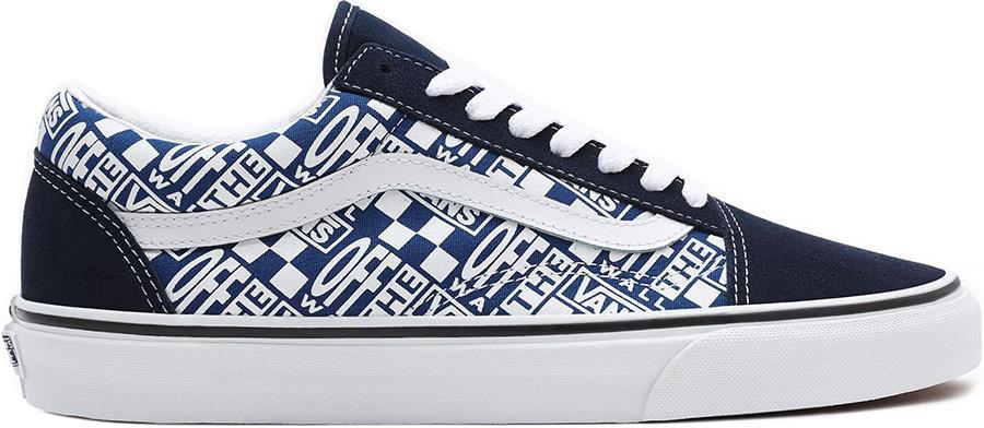 Vans Old Skool Skate Trainers/Shoes, UK 7 Dress Blue/True Blue