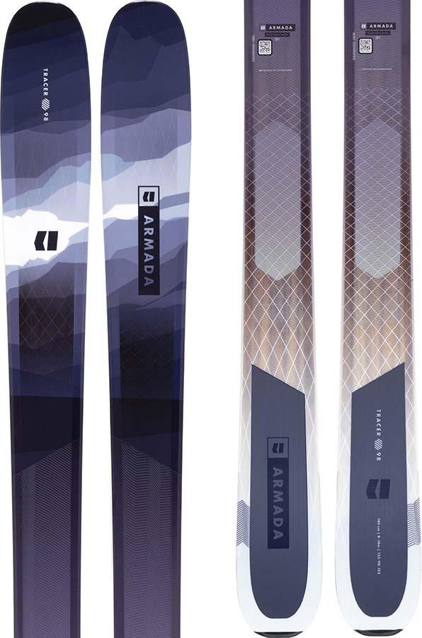 Armada Tracer 98 Skis 172cm, Blue/white, Ski Only, 2022
