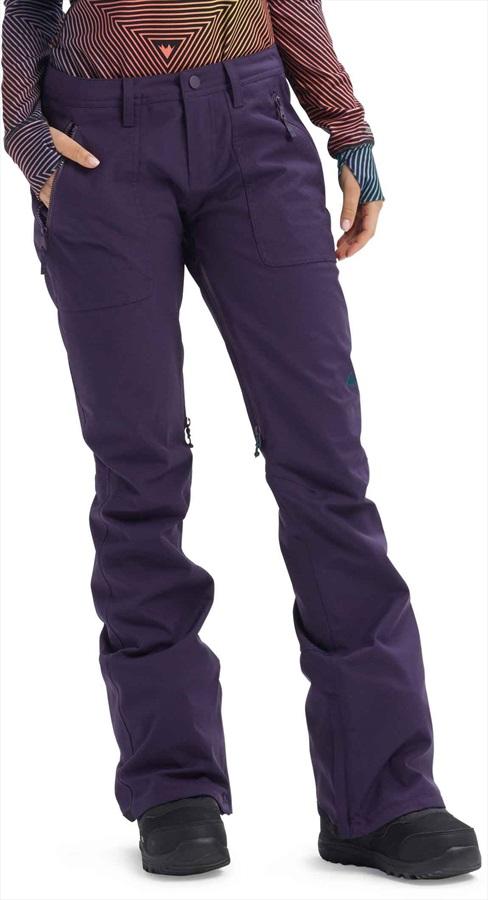 Burton Vida Women's Ski/Snowboard Pants, XL Purple Velvet