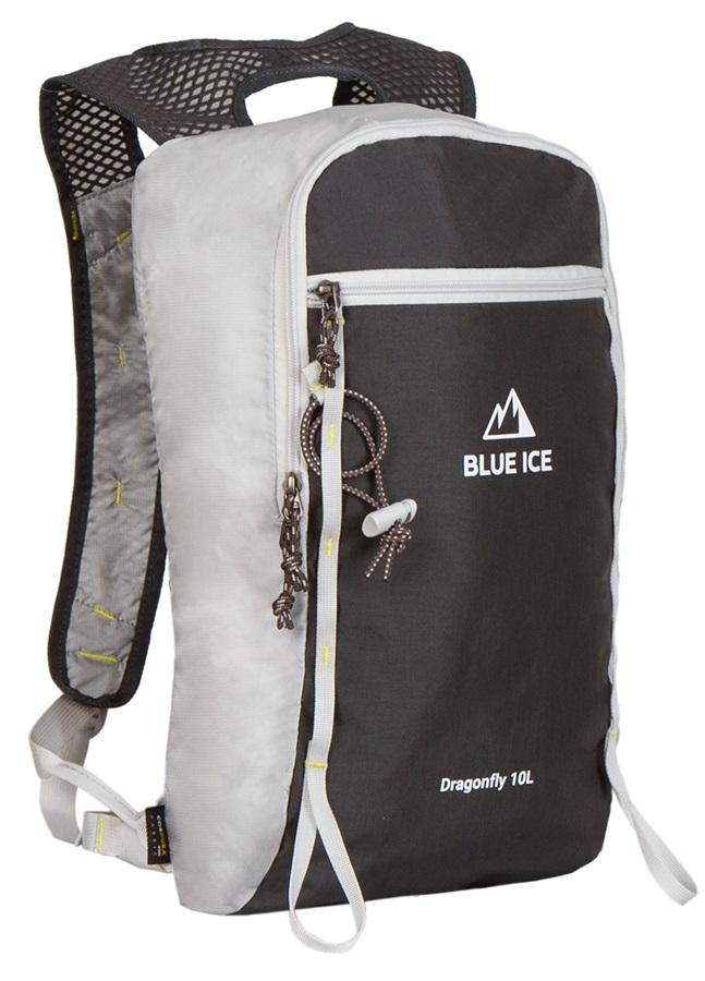 Blue Ice Dragonfly Alpine Climbing Backpack, 10L Grey/Black