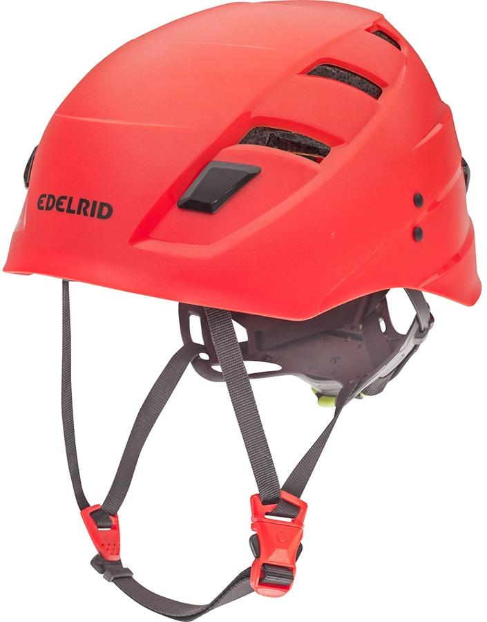 Edelrid Zodiac Climbing Helmet, 54-62cm, Red