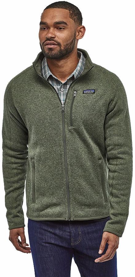 Patagonia Better Sweater Full Zip Fleece Jacket, M Industrial Green