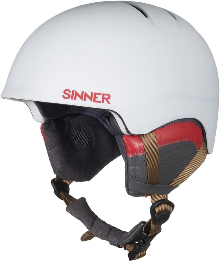 Sinner Lost Trial Ski/Snowboard Helmet XL White