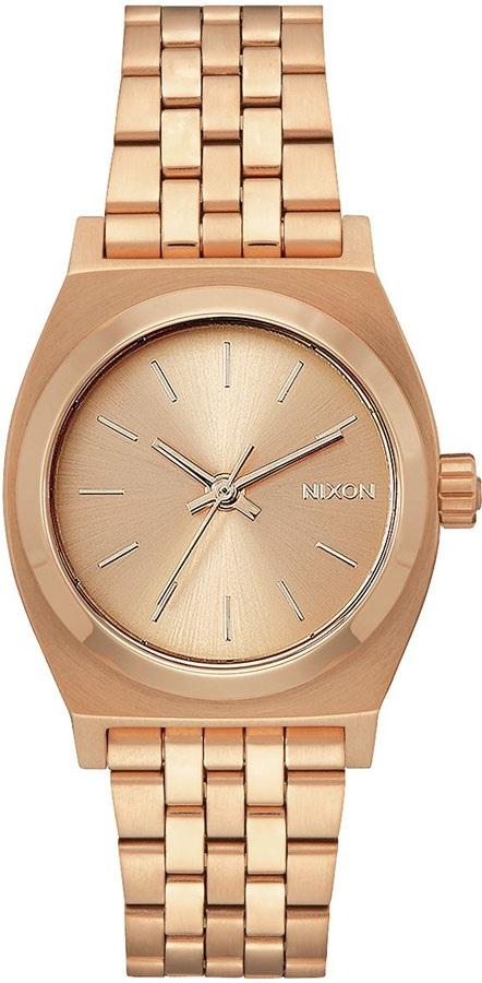 Nixon Medium Time Teller Women's Watch OS, All Rose Gold